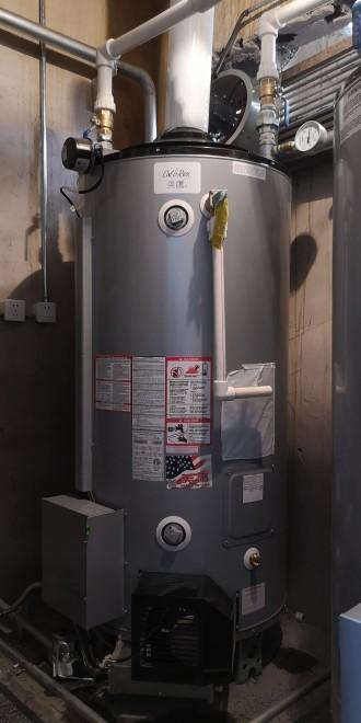美鹰燃气热水器酒店热水工程